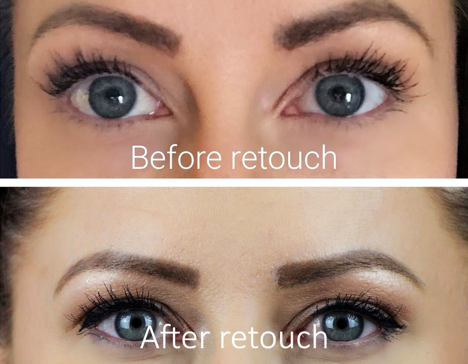 microblading retouch